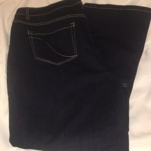 Lane Bryant Boot cut Jeans size 22